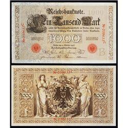 Reichsbanknote, 1903 Issue Banknote.
