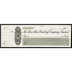 Isle of Man Banking Company Limited Proof Check By Waterlow.