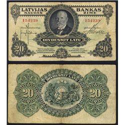 Latvijas Bankas - 1925 Issue.