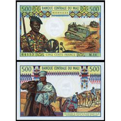 Banque Centrale Du Mali, ND (1973-84) Issues.