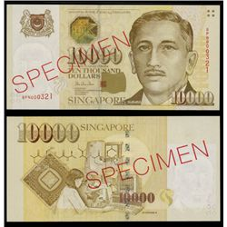 Board of Commissioners of Currency, ND (1999) Issue Specimen Banknote.