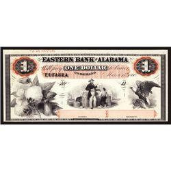 Eastern Bank of Alabama Proprietary Proof $1 Banknote