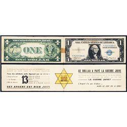 German Propaganda of U S  Currency Anti-Semitic Information Pamphlet