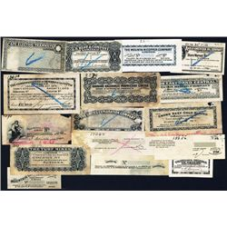 Waterlow & Sons Coupon Proof Assortment of 17 Different.