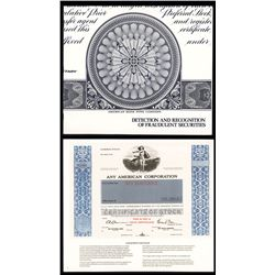 ABN Guide to Detecting Counterfeit Stock Certificates.