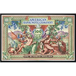 American Bank Note Company, 1890-1900's Litho Advertising Card.