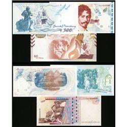 Goznak Advertising Banknotes (3 Different).