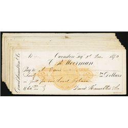 Owensburg, Kentucky RN C-1 Imprinted Revenue Checks.