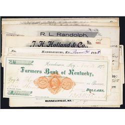 Revenue Imprinted Checks Assortment from Kentucky.
