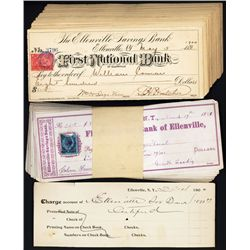 First National Bank of Ellenville, NY Issued Checks.