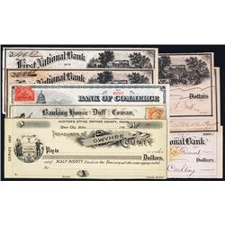 Assortment of Issued Checks (22).
