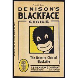 ÒBooster Club of BlackvilleÓ Blackface Series Play Booklet.