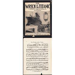 ÒWreck of the TitanicÓ Sheet Music by William Baltzell.