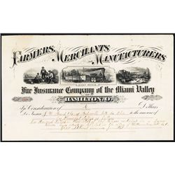 Farmers, Merchants and Manufacturers Fire Insurance Co. of the Miami Valley