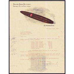 Finck Cigar Factory Full Color Letterhead.