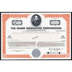 Chase Manhattan Corp. Specimen Stock.