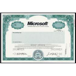 Microsoft Specimen Stock.