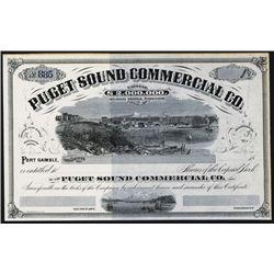 Puget Sound Commercial Co. Specimen Stock.