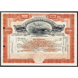 Consolidated Arizona Smelting Co., 1919, Issued Stock.