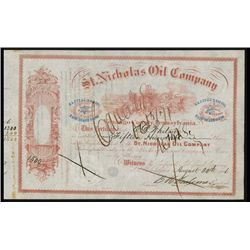St. Nicholas Oil Co. Issued Stock Lot of 7.