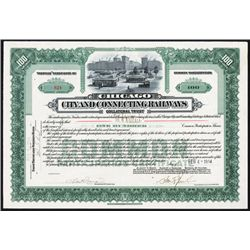 Chicago City and Connecting Railways Collateral Trust Issued Stock.