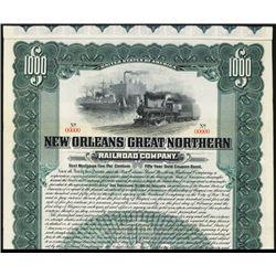 New Orleans Great Northern Specimen Bond.