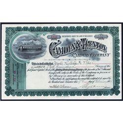 Camden & Trenton Railway Co. Issued Stock.
