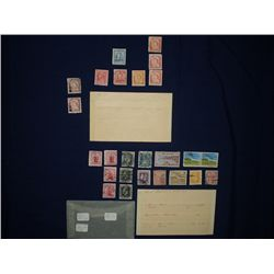 23 Old Stamps