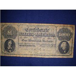 $1000.00 bill 1861