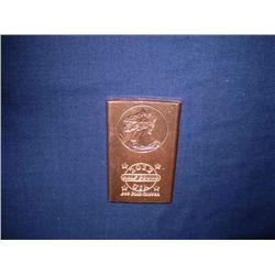 Half pound copper bar