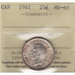 1941 Twenty Five Cent