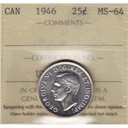 1946 Twenty Five Cent