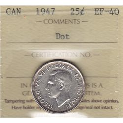 1947 Twenty Five Cent