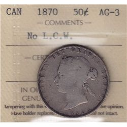 1870 Fifty Cent