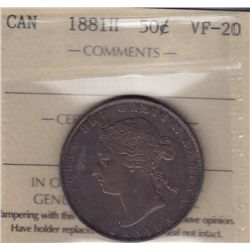 1881H Fifty Cent