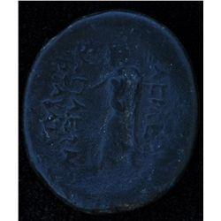 Armenia Tigranes II (83-69 BC) - AE-19 Obv: His dr. bust r. wearing Armenian tiara, letter or monogr