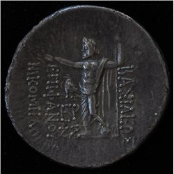 Bithynia Nikomedes IV (91-90 BC) - AR-Tetradrachm Obv: Diad. Head of Nikomedes II r. Rev: Zeus stg.