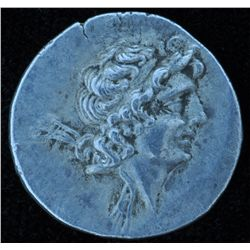 Cappadocia Ariarathes IX (101-87 BC) - AR-Drachm Obv: Young diad. head .  Rev: Athena holding Nike,