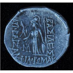 Cappadocia Ariobarzanes I (66-65 BC) - AR-Drachm  Obv: Middle-aged head of same w/ year 30 symbol l.