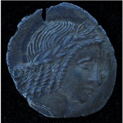 Lycia Kragos (circa 30 BC) - AR-Hemidrachm Obv: Laur. hd. of Apollo r., hair in formal curls. Rev: L