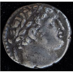 Tyre Half Shekel (126-18 BC)                                   - Obv: Laureate bust of Melqart right