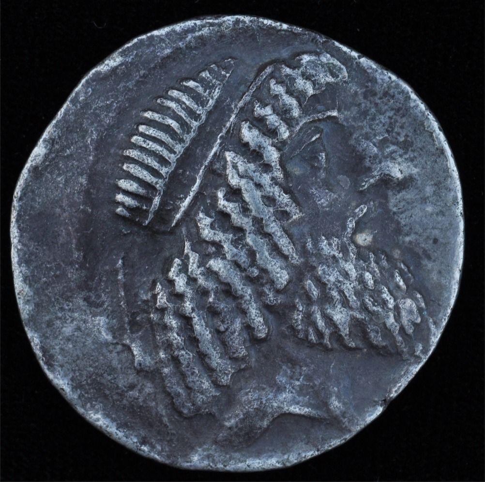 CHARACENE: Attambelos I, 44-40 BC, AR tetradrachm (11.77g