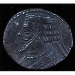 Phraataces (2 BC- 4 AD) - AR-Tetradrachm as the previous one. Sellwood 56.1, Shore #312. 11.38 grams