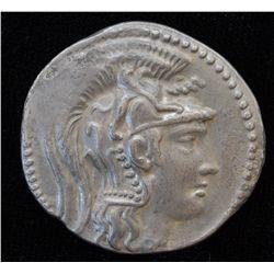 Athens (86-84 BC) - AR-Tetradrachm Under Sulla Obv: Athena  PartHenos crested helmet r.  Rev: Owl st