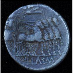 L. Cornelius Sulla and L. Manlius Torquatus  (82 BC) - AR-Denarius Obv: Helmeted  head of  Roma r. R