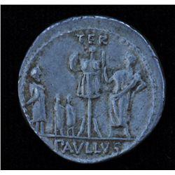 L. Aemilius Lepidus Paullus (62 BC) - AR-Denarius Obv: Veiled and dr. head of Concordia r. PAVLLVS L