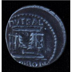 L.Scribonius Libo  (62 B) - AR-Denarius Obv: Diad. head of Bonus  Eventus r., BON EVENT before LIBO