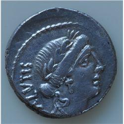 Mn. Aeilius Glabrio  (49 BC) - AR-Denarius Same as lot above, slightly off centre. Ex:J. Hoare Aucti