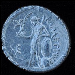 Julius Caesar (44 BC) - AR-Denarius Obv: wreathed head of Caesar CAESAR IMPER  Rev: Venus stg.  l.,