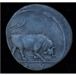 Augustus (27 BC - 14 AD) - AR-Denarius  Rome 15-13 BC. Obv: Bare head of Augustus l., AVGVSTVS DIVI